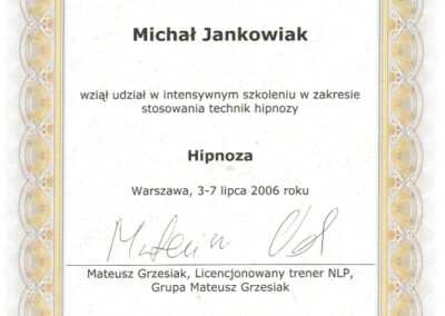Hipnoza, 2006