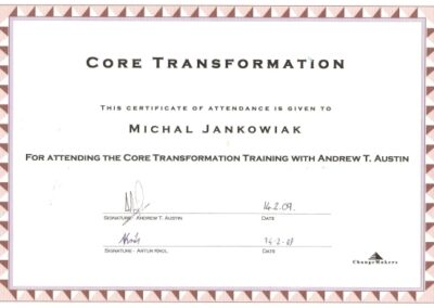 Core Transformation, 2009